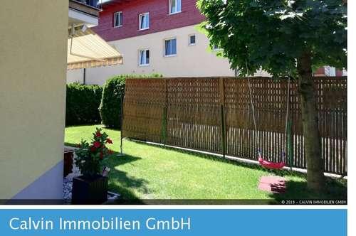Exquisite, neuwertige 3-Zi-Stadtwohnung mit Eigengarten in Maxglan!