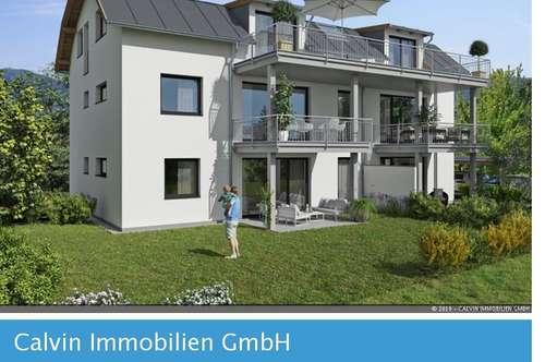 4-Zi-Penthouse ca. 115 m² Wfl + gr. Aussichtsterrasse 28m², an der Glan!