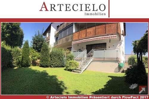 Eigentumswohnung in Klagenfurt - Waidmannsdorf mit 180 m² Eigengarten, altersgerecht