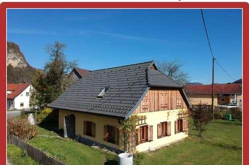 Aufwendig restauriertes Bauernhaus im Rosental