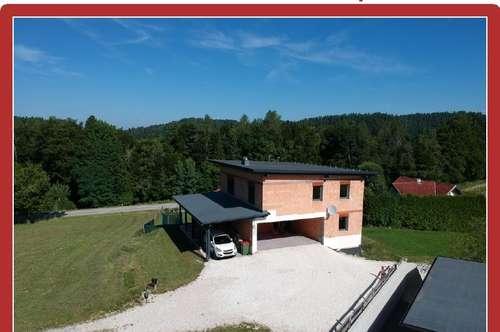 Radsberg bei Klagenfurt - Neues Einfamilienhaus über der Nebelgrenze - Panoramablick inklusive!