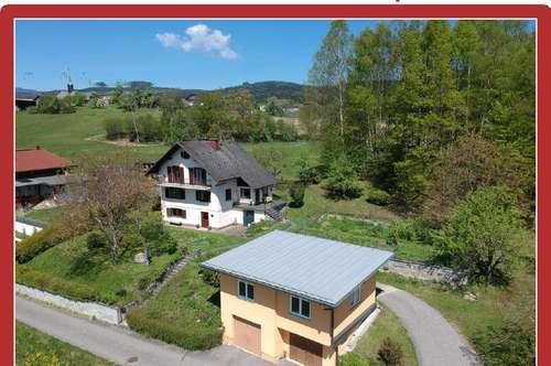Kerschdorf ob Velden/WS: Älteres Einfamilienhaus auf einzigartigem Panorama-Grundstück mit eigenem Wald