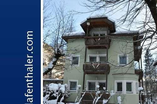 VILLEN-ähnliches, touristisch genutztes Wohnhaus in Bad Gastein/Böckstein. Ruhige ebene Lage in der Valerie Promenade.