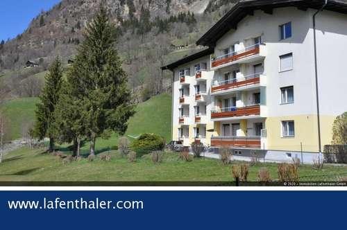 3-Zimmer ZENTRUMSWOHNUNG, ruhige und sonnige Lage im Zentrum von Hofgastein, mit freier Aussicht auf die Berge, Südwestlage