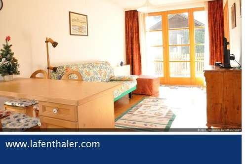 Ferien-WOHNEN am AUSSICHTSPLATZ ~ 2-Zimmer Ferienwohnung über dem Zentrum von Bad Hofgastein