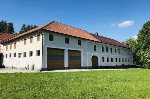Satter Vierkanthof mit 31 Hektar Wiesen und Waldfläche!
