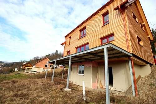 Neubau Erstbezug: Hochwertiges Massivholzhaus in Aussichtslage!
