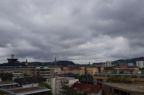 Traumhafte Aussicht über Linz