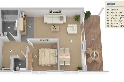 Moderner Wohntraum in sonniger Ruhelage