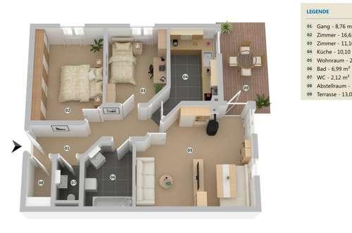 Wohntraum für Freizeitbegeisterte