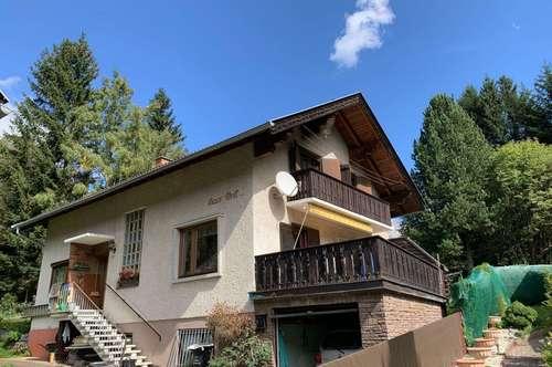Einfamilienwohnhaus mit Freizeitwohnsitz in Mallnitz zu verkaufen