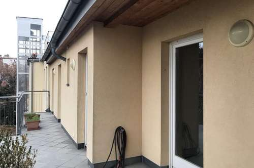 Schöne loftartige Dachgeschosswohnung mit Westterrasse