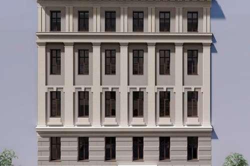 Exquisite Maisonette mit Balkon + Terrasse mitten im Servitenviertel: Altbau + Neubau