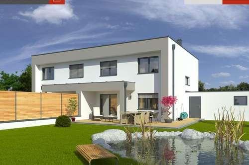 Bad Hall:NUR mehr 1 Doppelhaushälfte + Grund ab €276.289,-