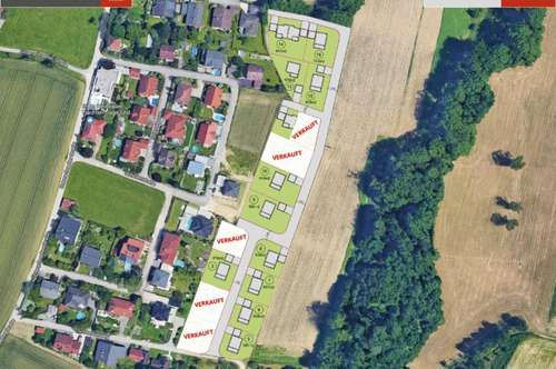 676 m² Grund + Ziegelhaus in Pucking ab € 378.800,-