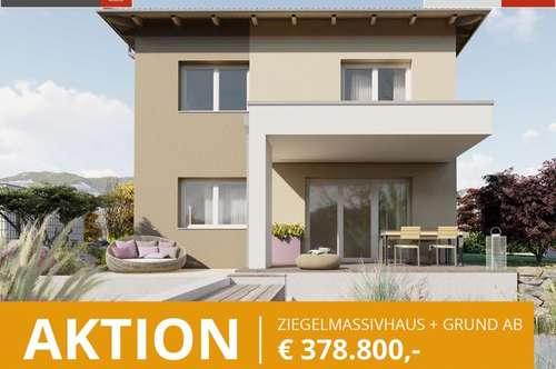 Aktion: Ziegelhaus inkl.676 m² Grund in Pucking ab € 378.800
