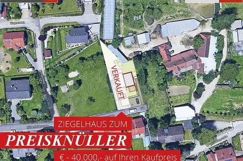 Leonding-Rufling: Sofortkauf € - 40.000 auf Ihr Ziegelhaus