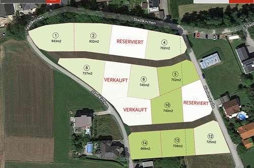 Dietach: 12 Grundstücke inkl. Ziegelmassivhaus ab €392.373,-