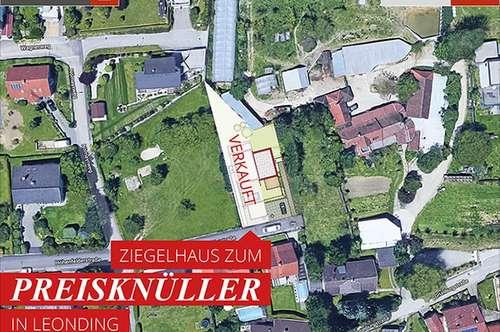 Leonding-Rufling: Grundstück in ruhiger Lage + Ziegelhaus