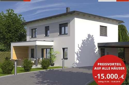 AKTION: EIN ZIEGELHAUS AUF IHREM GRUNDSTÜCK MONATL. AB € 888,-