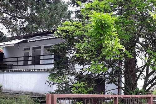 Einfamilienhaus mit südseitiger Terrasse in leichter Hanglage