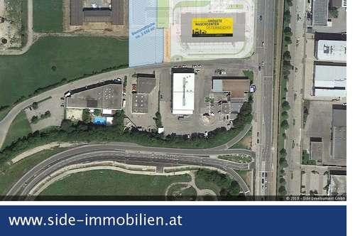 St. Pölten Süd   Gewerbegrundstück Nähe Autobahnabfahrt A1 - langfristig zu mieten