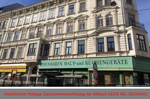 UNBEFRISTET! Renovierter Altbau - Zweizimmerwohnung nähe Westbahnhof