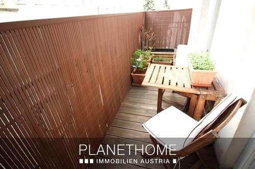 Sanierte 75 m² Wohnung im 2. Liftstock mit Balkon in absoluter Ruhelage