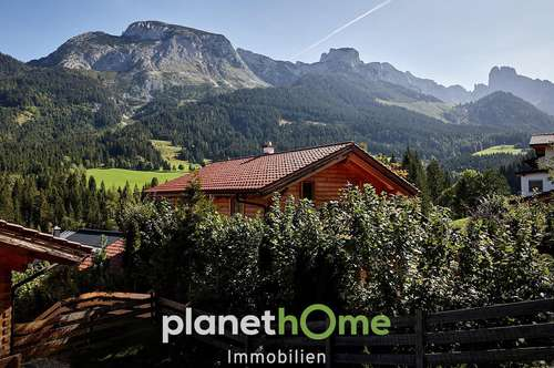 Chalet inmitten romantischer Bergwelt