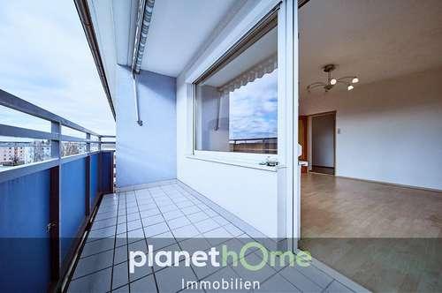 Junge Paare – Wohnungsstart auf 63 m² mit südseitiger Panorama-Loggia!