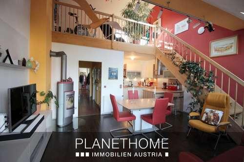 1 Zimmer, Wohnküche & Schlafgalerie in Maisonette