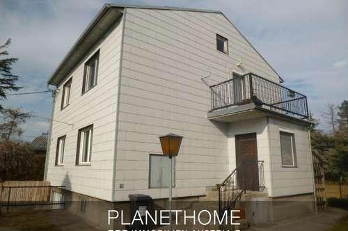 Einfamilienhaus mit großem Garten und Garage!