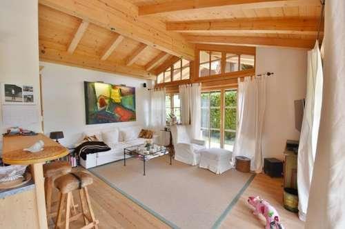 Jochberg: Moderne Terrassenwohnung mit Garten