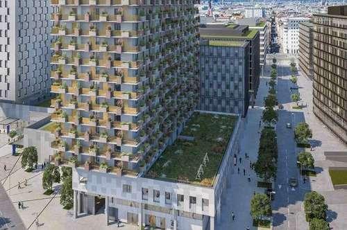 Geschäftsfläche im Eigentum im QBC - Quartier Belvedere Central Bauteil 6