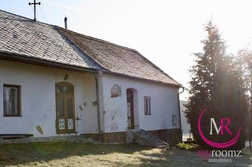 Sanierungsbedürftiges Einfamilienhaus mit Nebengebäude in Deutsch Ehrensdorf