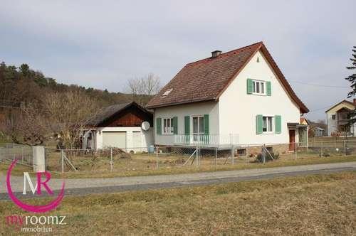 Ruhig gelegenes Einfamilienhaus mit Nebengebäude in Windisch-Minihof