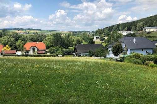 Baugrundstücke am Sonnenhang von Schenkenfelden