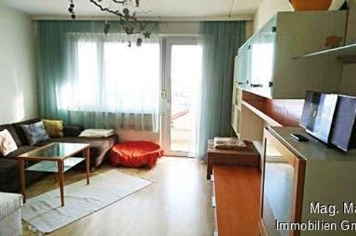 Möblierte 3-Zimmer-Wohnung mit Loggia