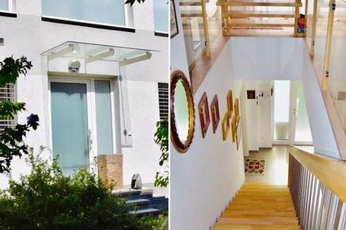 ! SIE SUCHEN DAS BESONDERE ! Schöner Wohnen für Singles und Paare auf 3 Ebenen, gemütlicher Wintergarten, große Dachterrasse
