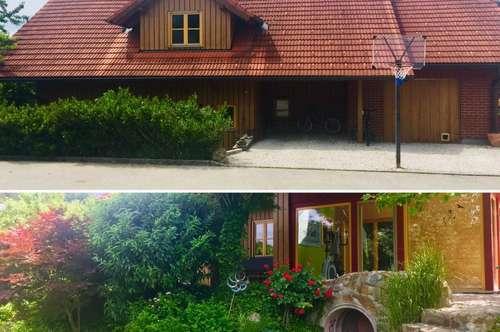 Traumhaftes Holzhaus mit Blick ins Grüne!