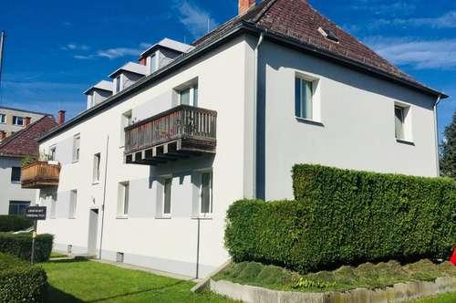 Mietwohnung im Erdgeschoss mit eigenem Garten im Zentrum von Wels!