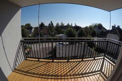 Neu errichtete Dachgeschosswohnung