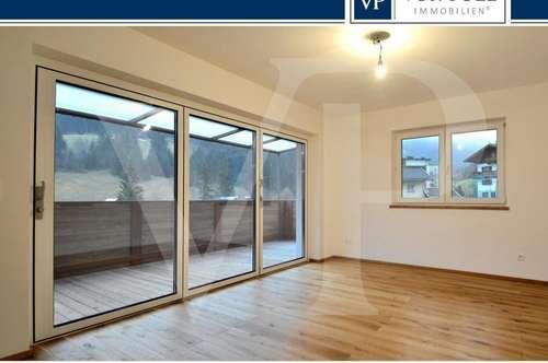 Neu errichtete 4 Zimmerwohnung mit fantastischen Ausblick