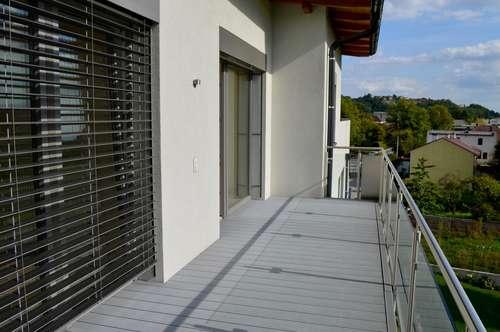 St. Georgen/ Gusen: APOLLO RESIDENZ -  Über den Dächern Penthouse mit Fernblick und großzügiger Terrasse
