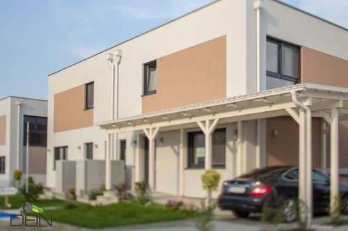 Schlüsselfertiges Musterhaus - Doppelhaustraum mit Badeidylle