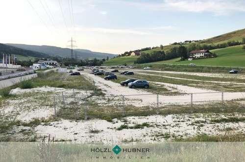 Großflächiges Gewerbegrundstück unmittelbar an der Autobahnabfahrt