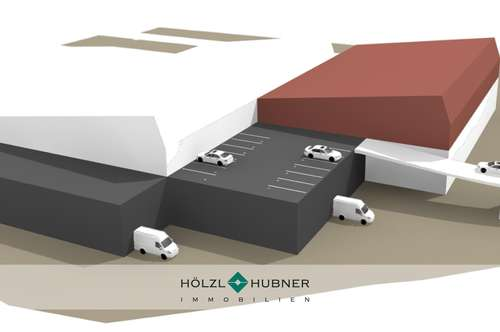 Neubauhalle mit individueller Gestaltungsmöglichkeit