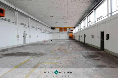 Hallenflächen für Produktion oder Lager