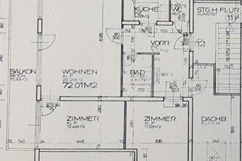 Neu sanierte 4 Zimmerwohnung im Nonntal