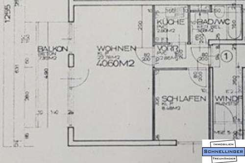 2-Zimmer-Wohnung Nonntal